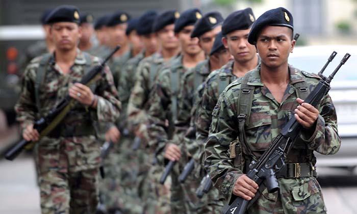 ระบบเกณฑ์ทหารแบบใหม่สมัครใจเป็นทหาร